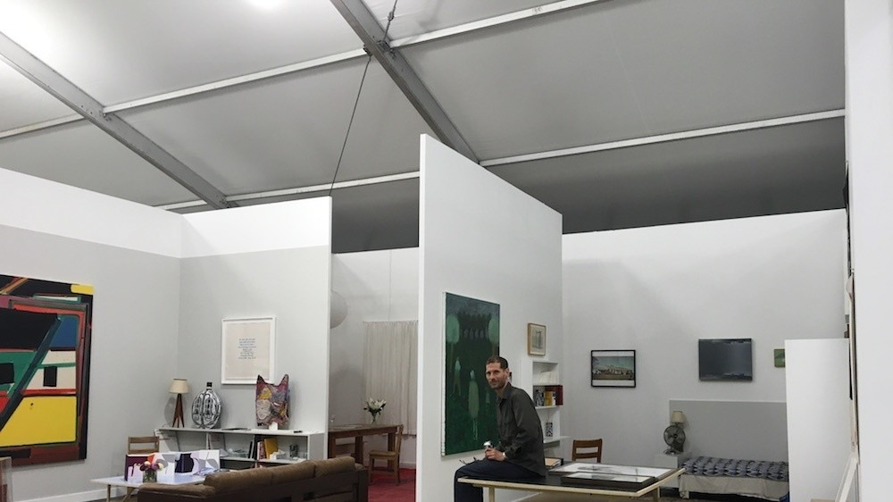 why marc hundley recreated his williamsburg apartment at nyc frieze