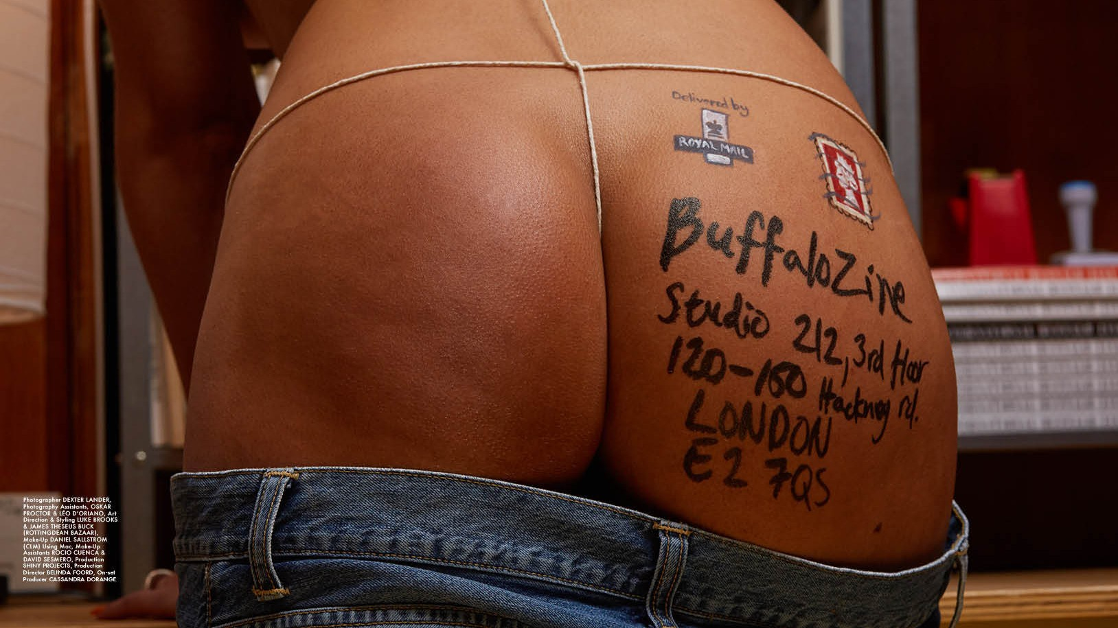 peek inside the fifth issue of buffalo zine, featuring pamela anderson and hunky cowboys