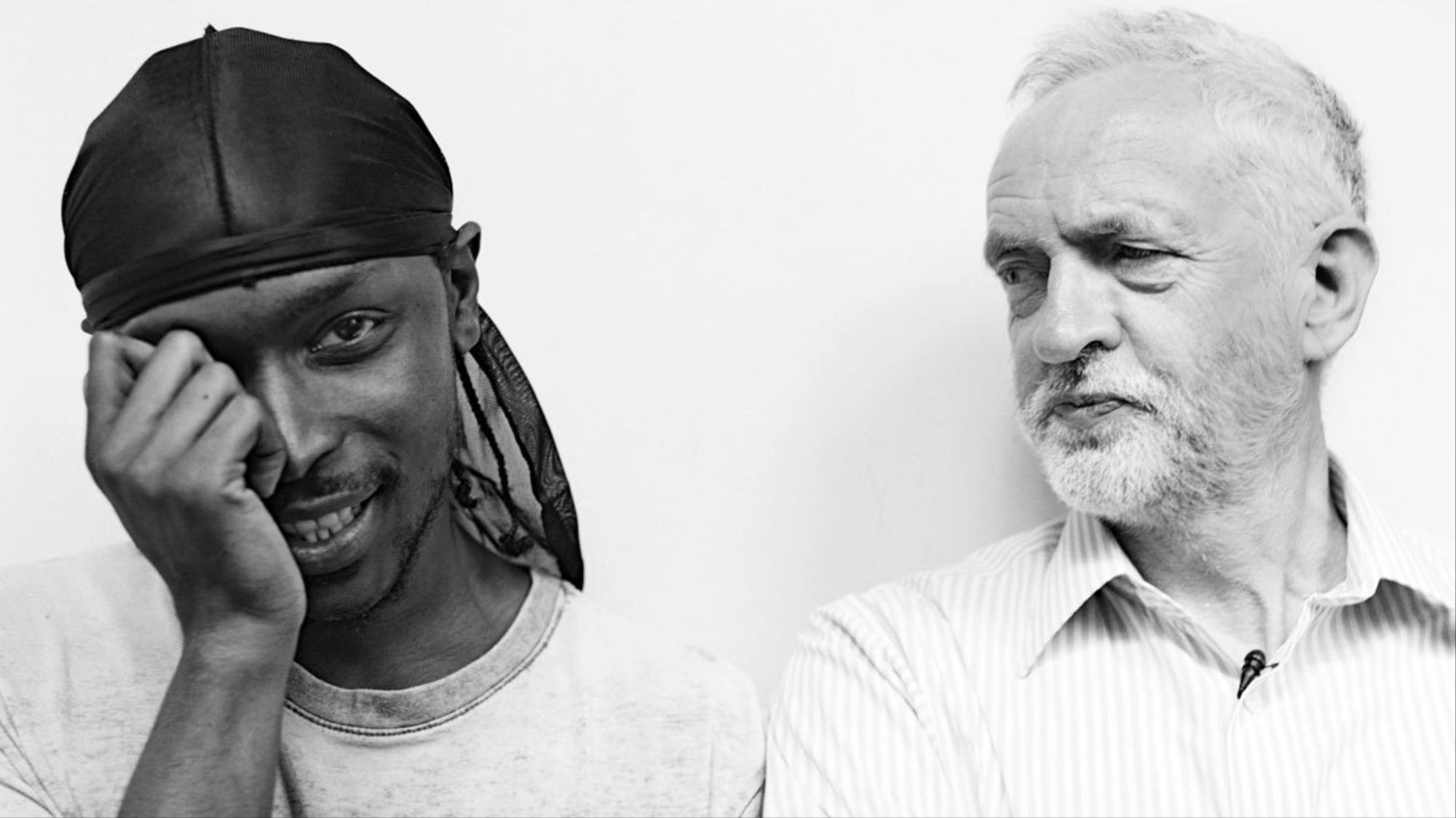 10 things we learnt from teaming up jme with jeremy corbyn