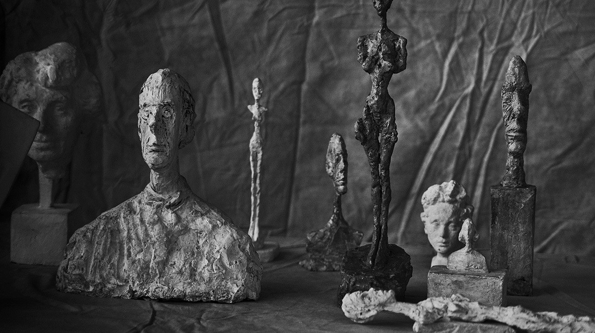 one legend to another, peter lindbergh documents the works of giacometti
