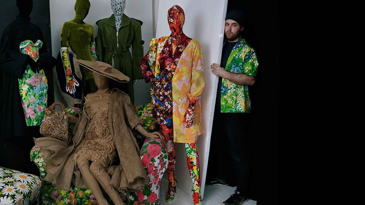 fall into richard quinn's floral dystopia
