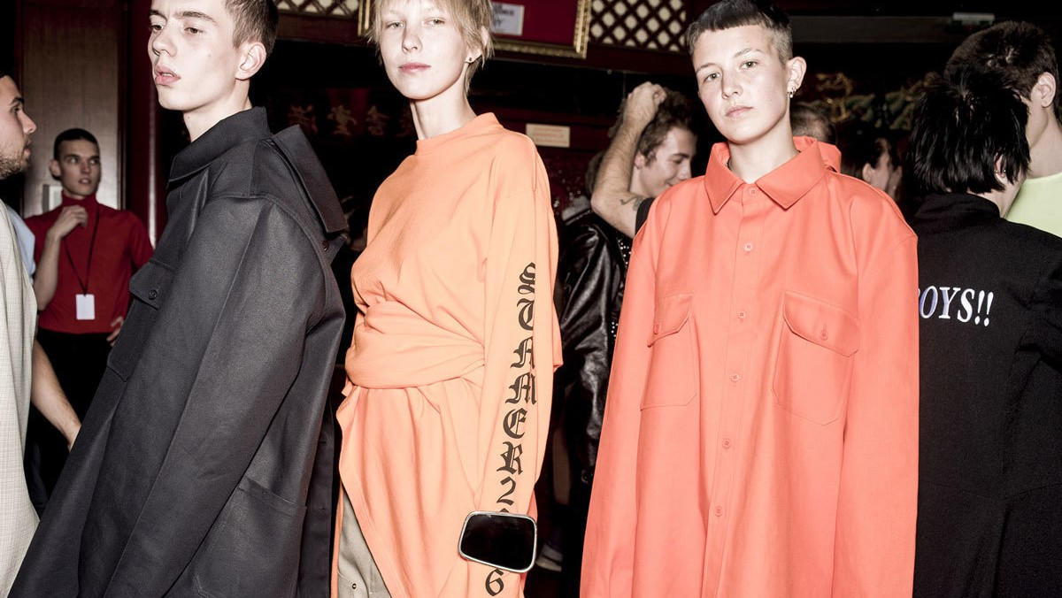 "per demna gvasalia di vetements ""l'europa dell'est è over"""