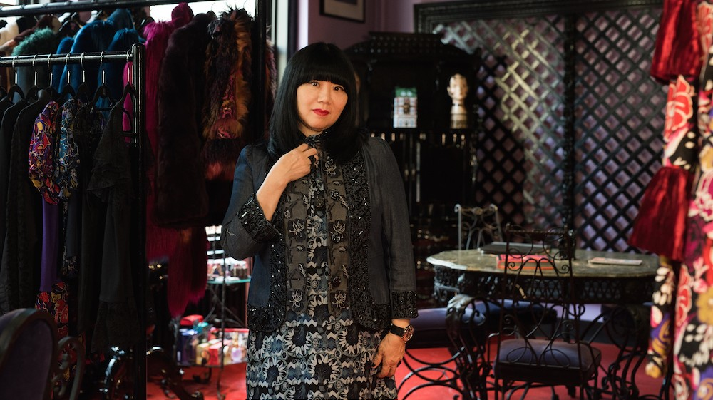 anna sui has made a global empire out of her teenage dreams