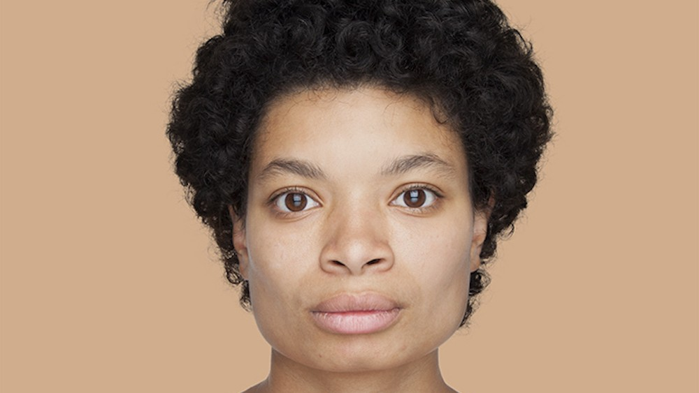 this photographer using the pantone system to change how we think about race