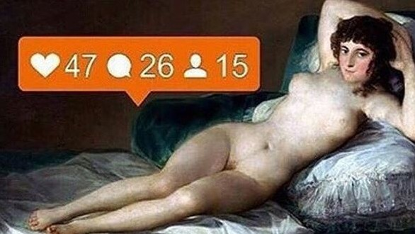 how women's naked selfies have become commercialised and commodified