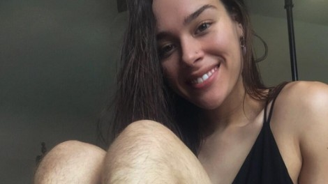 morgan mikenas hasn't shaved her body in over a year