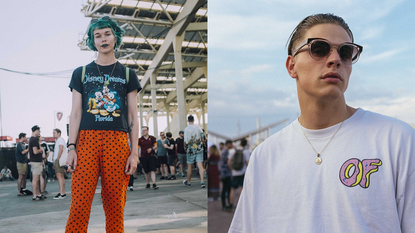 the coolest international street style from primavera sound 2017, straight up