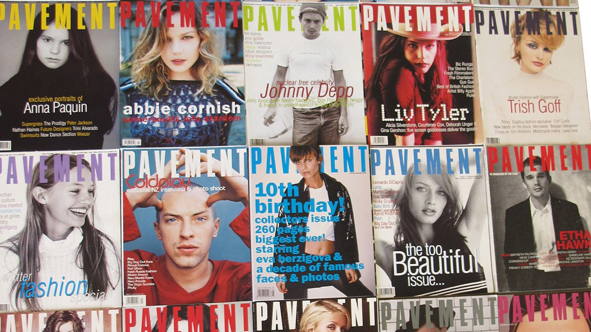 the rise, fall, and hedonistic rule of 90s magazine 'pavement'
