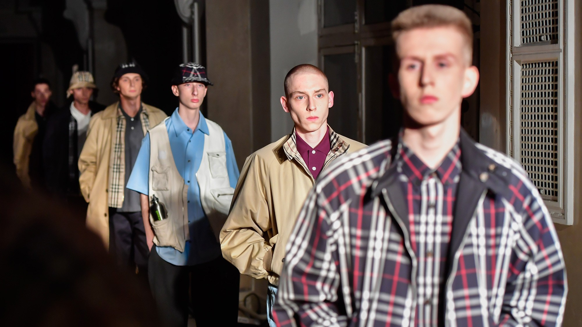 gosha rubchinskiy does burberry in st. petersburg