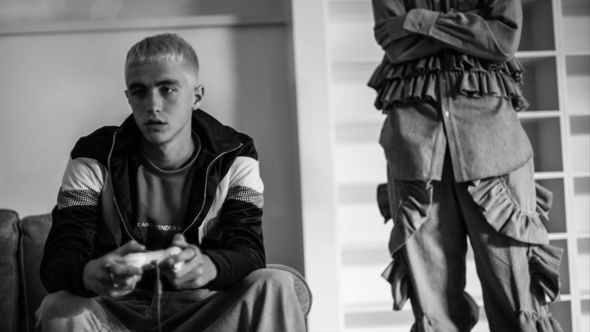 backstage at lfwm: christopher shannon's sweet and tender hooligans for spring/summer 18
