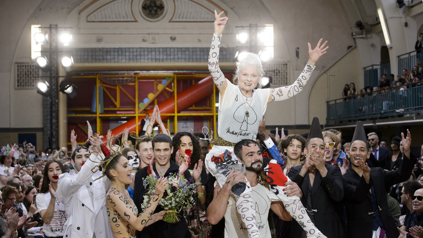 """we don't have the same idea of paradise"": craig green and vivienne westwood share a message of optimism"