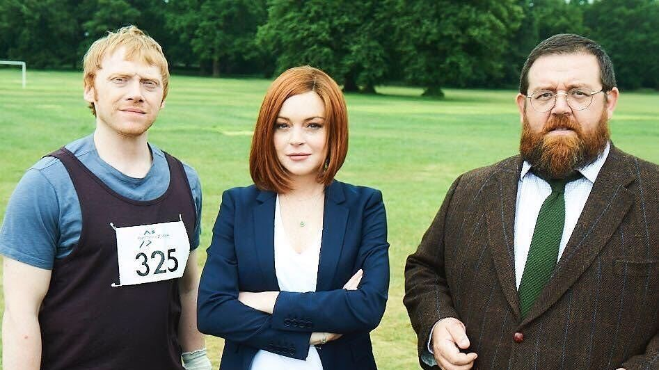 lindsay lohan and ron weasley are starring in a sitcom together