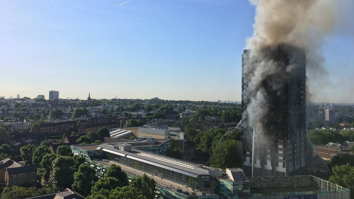 how to donate to victims of the grenfell tower block fire