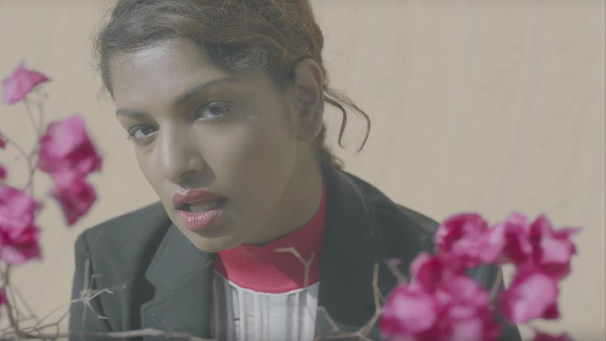 m.i.a. is captured by viviane sassen's dreamy lens for her new video finally