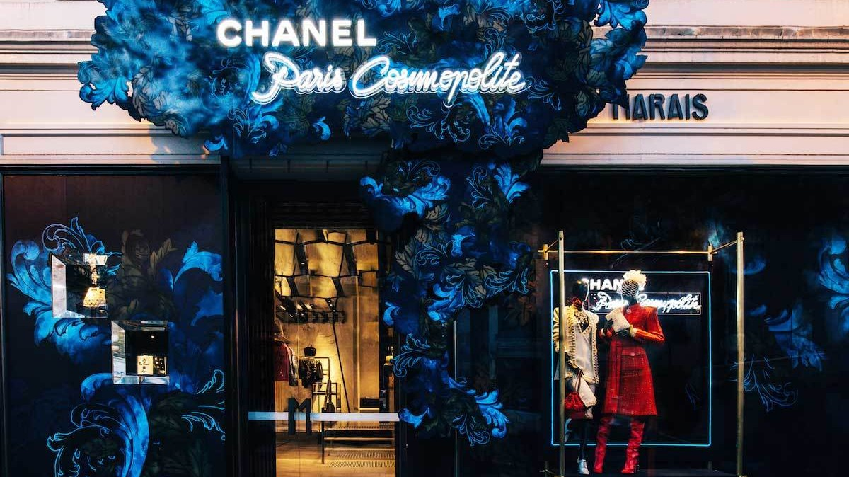 visit chanel's ephemeral melbourne boutique, inspired by the magic of ritz paris