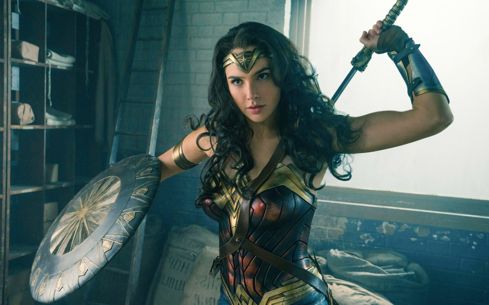smashing records and subverting stereotypes: how wonder woman is sexy, but  not born yesterday