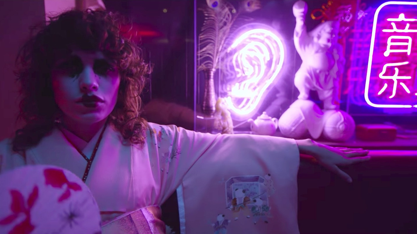 trippy new ysl video flexes goth-geisha with an oscar wilde voiceover
