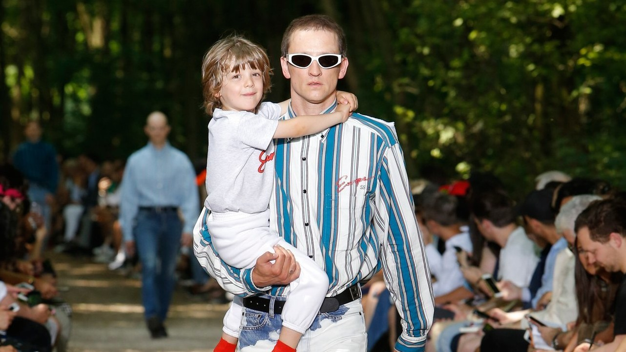 real families are the stars of balenciaga spring/summer 18