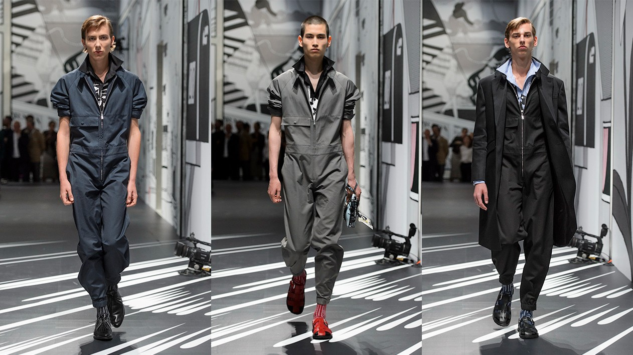 ​the return of the return of the male jumpsuit