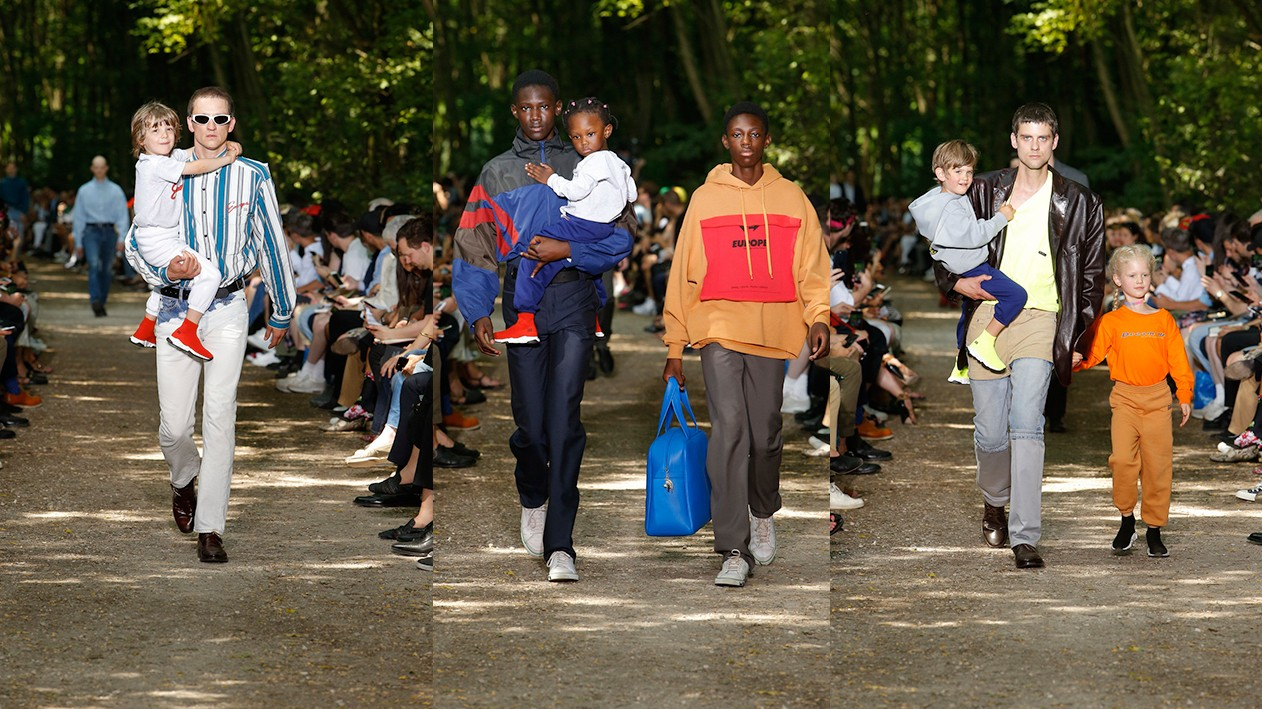 the opening day of paris menswear was all about the power of dreams