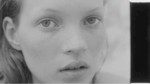 raf simons has unearthed unseen kate moss footage from the 90s