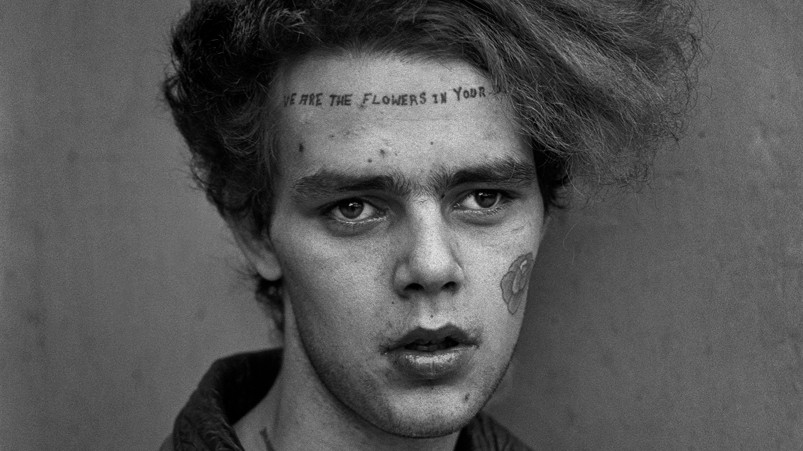 photographing the surprising intricacy of punk hairstyles