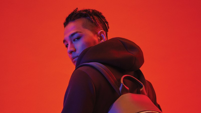 fendi collaborates with k-pop superstar taeyang