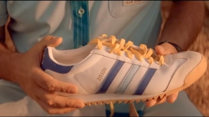 adidas has finally released 'the life aquatic'-inspired zissou sneakers