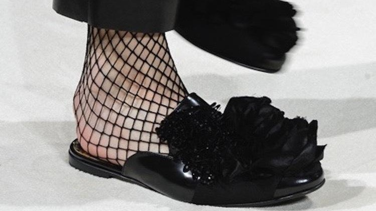 the strange, sexy history of fishnet stockings