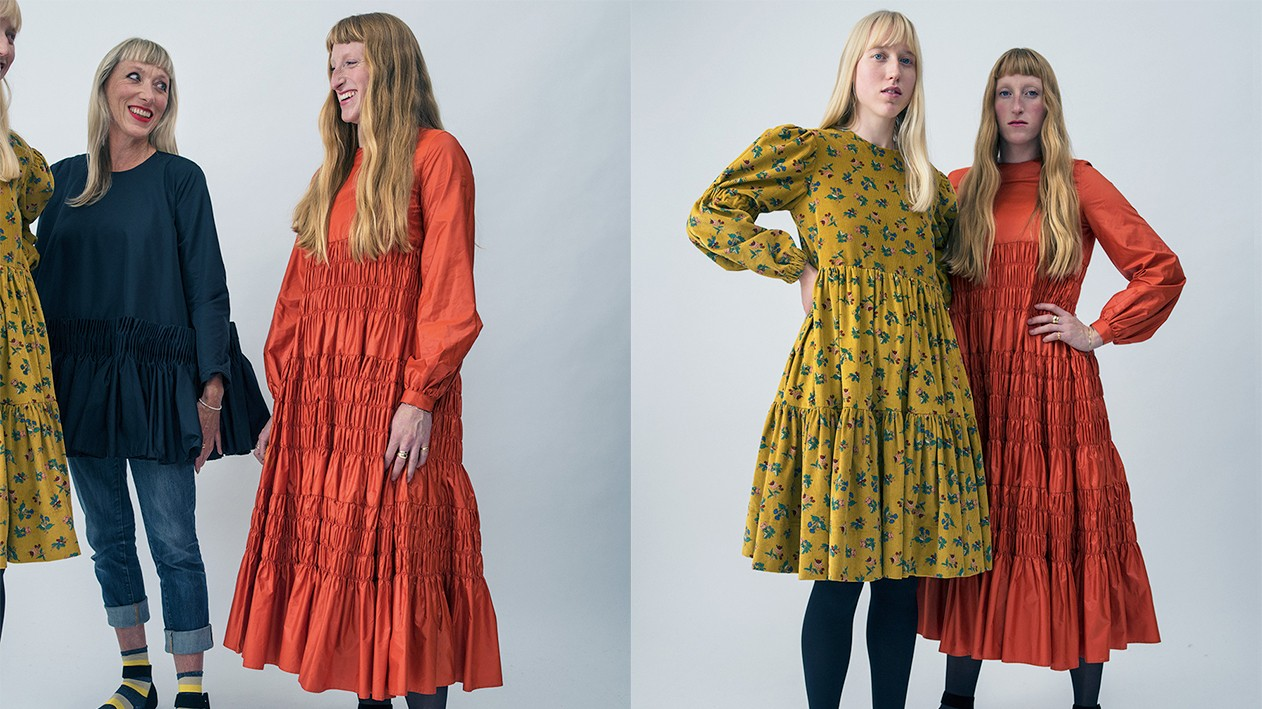 fashion is a family affair for molly and alice goddard