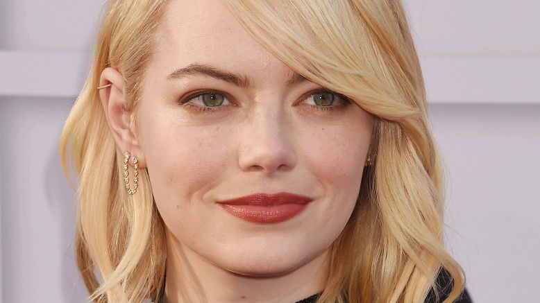 emma stone says her male co-stars take pay cuts for equality