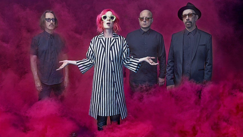 shirley manson shares her favorite vintage garbage photos