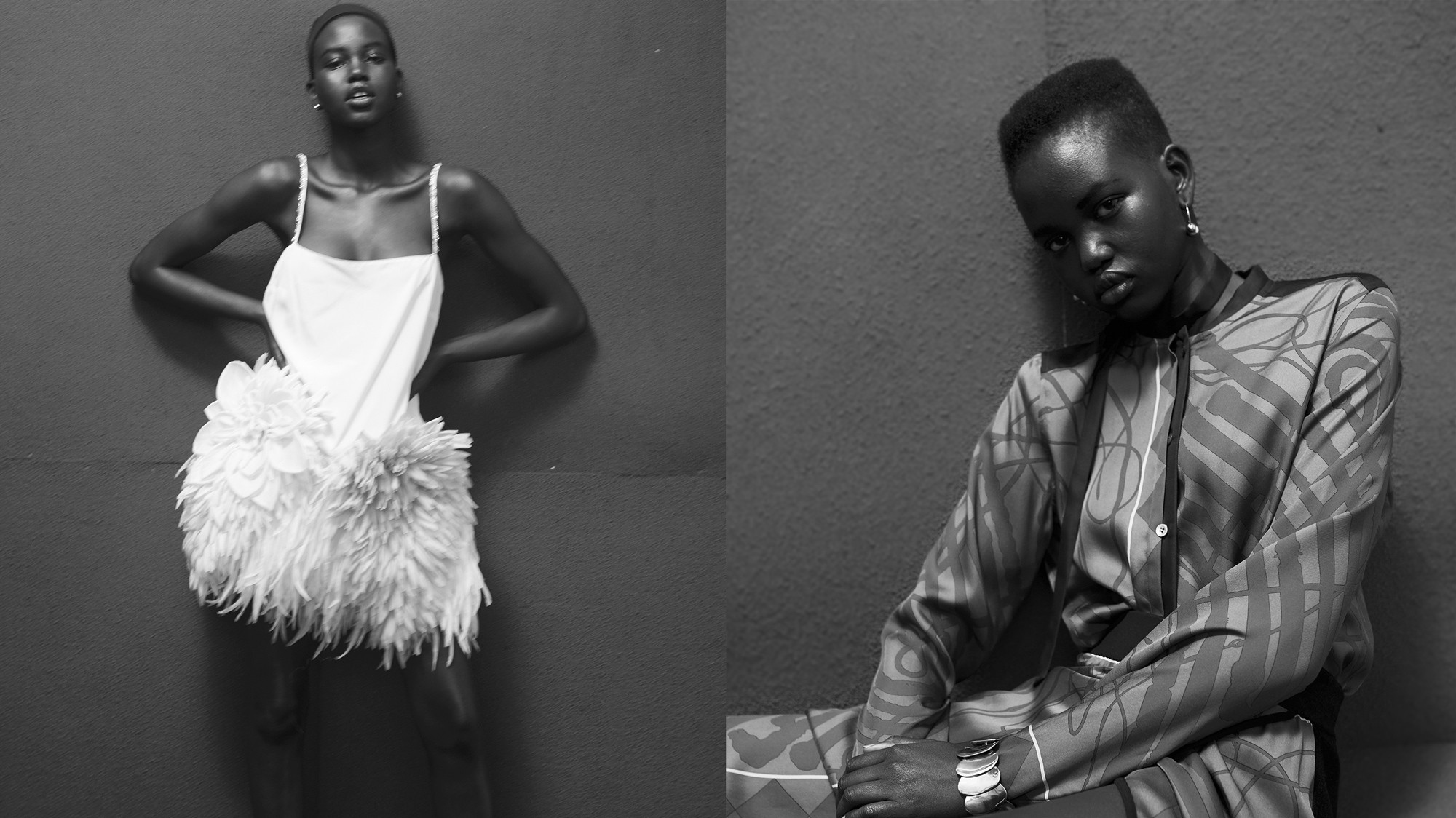 adut akech isn't a star on the rise, she's a supernova