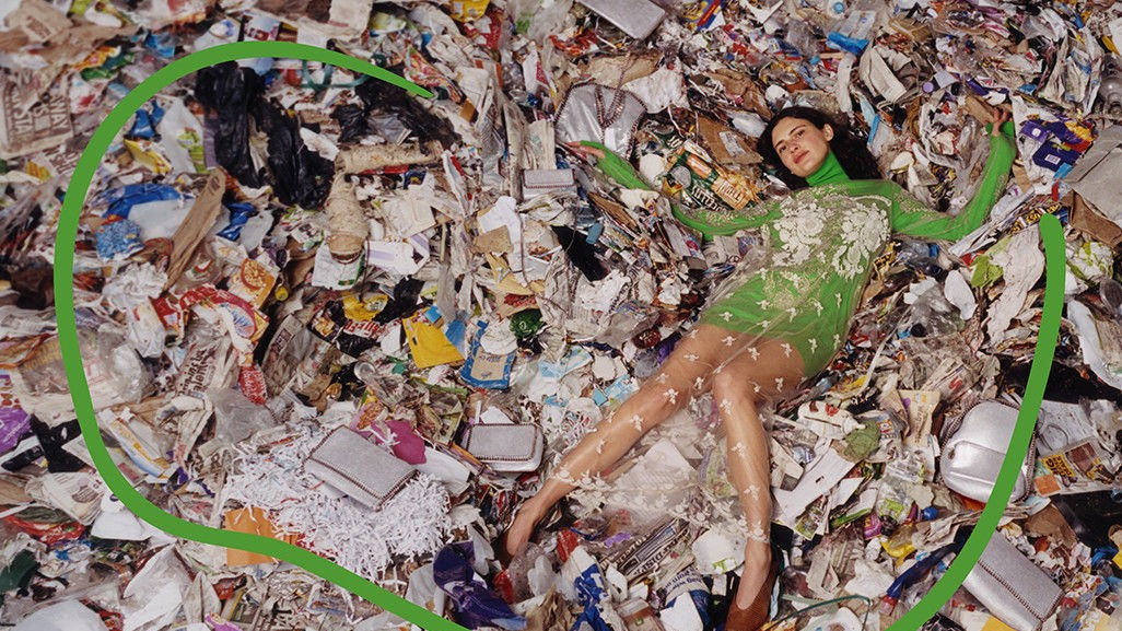 stella mccartney's new collection heads straight to the landfill