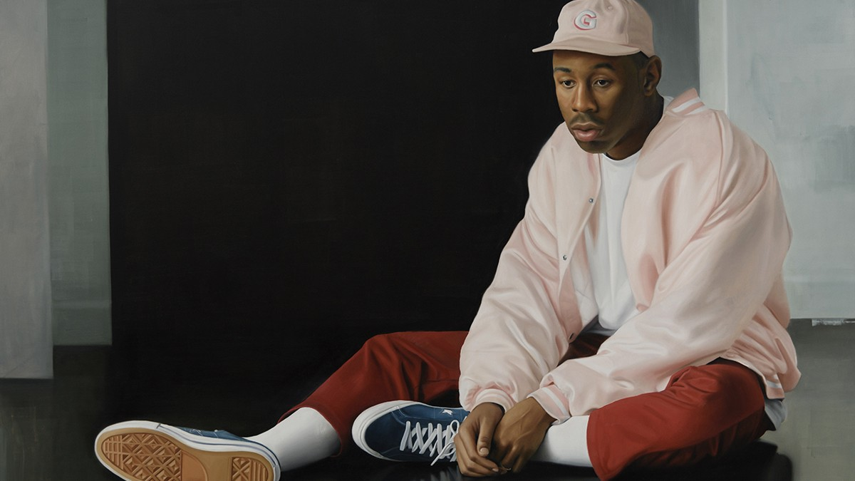 delfin finley paints young, black l.a. in obsessive detail