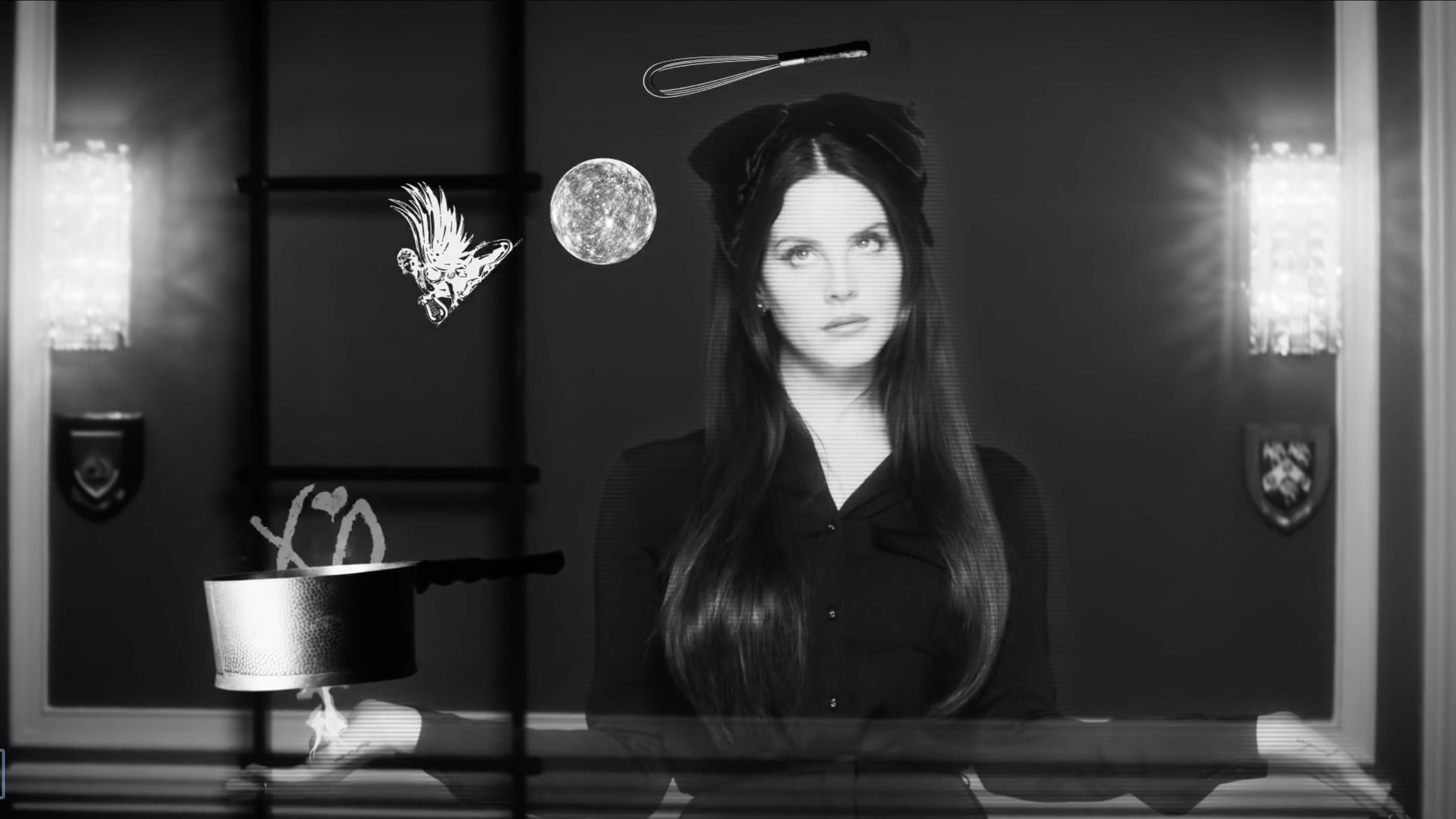 lana del rey helped cast a spell on trump