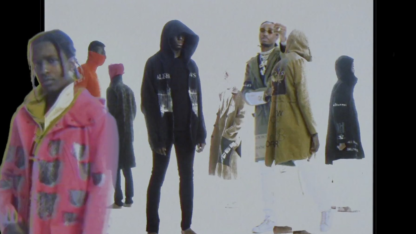 a$ap rocky raids archival raf simons for new 'raf' video