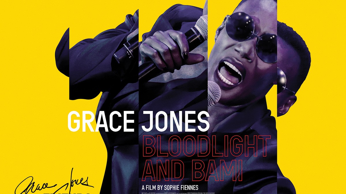exclusive first look: grace jones 'unmasks' in bloodlight and bami doc
