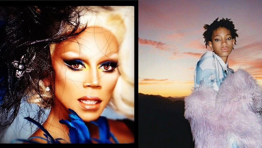 rupaul really, really wants willow smith to play him in a tv biopic