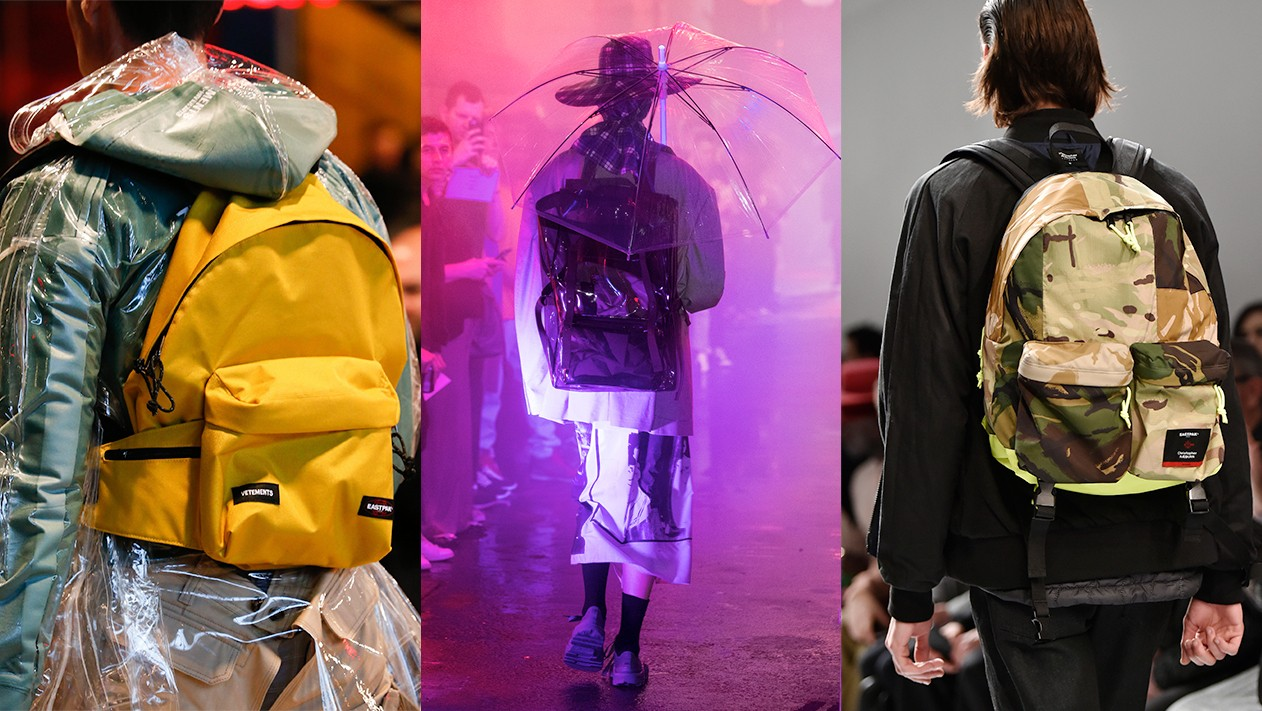 why does fashion love eastpak backpacks so much? we asked raf simons