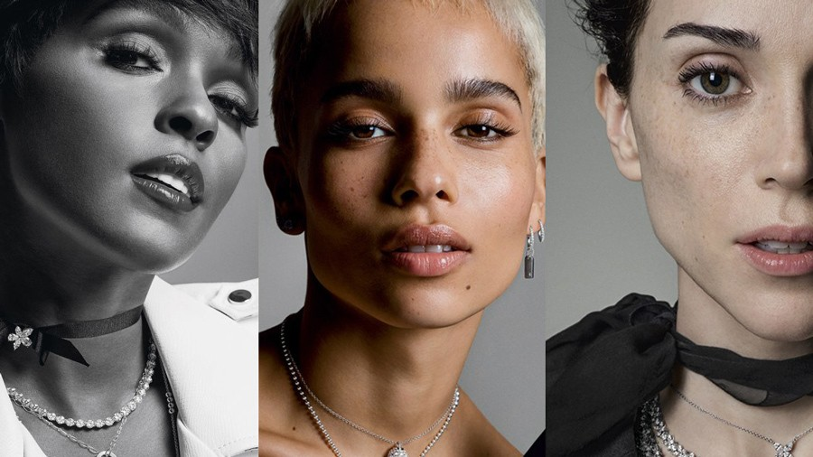 tiffany and co. let down their hair with zoë kravitz, janelle monáe and st. vincent