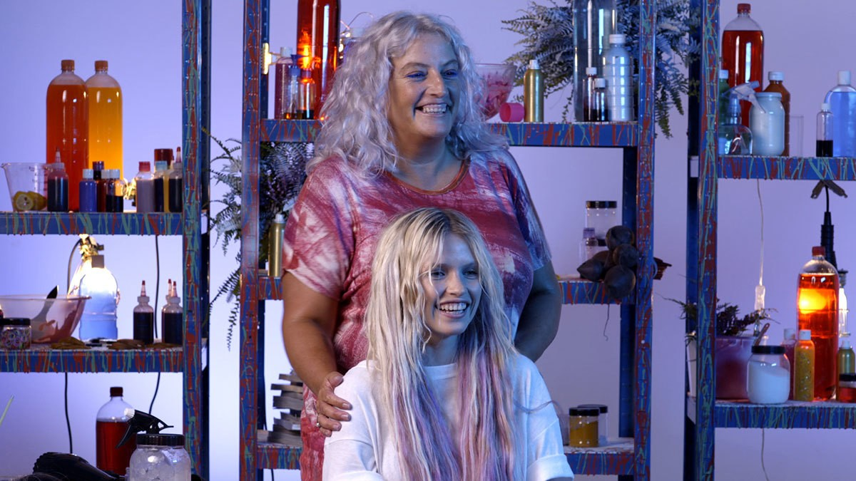 Hair I Diy With Tina Outen How To Grunge Hairstyle I D