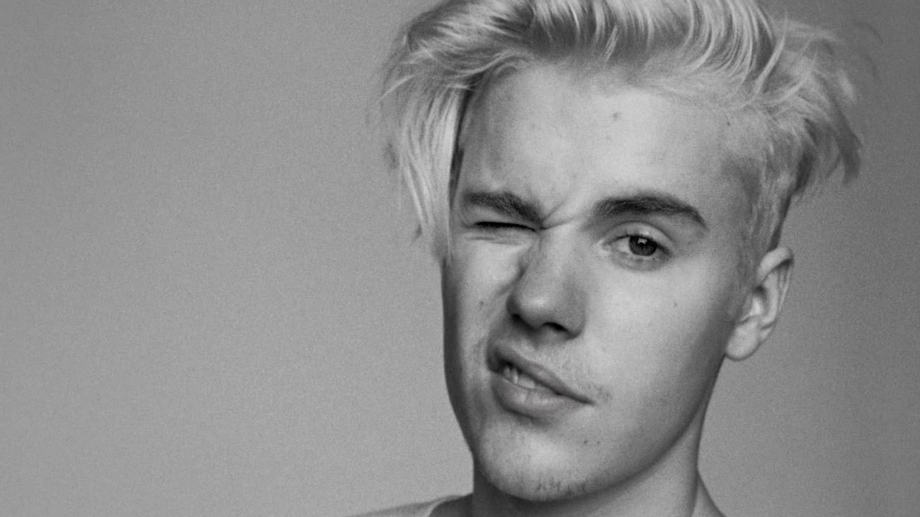 backstage bei justin biebers i-D cover shoot